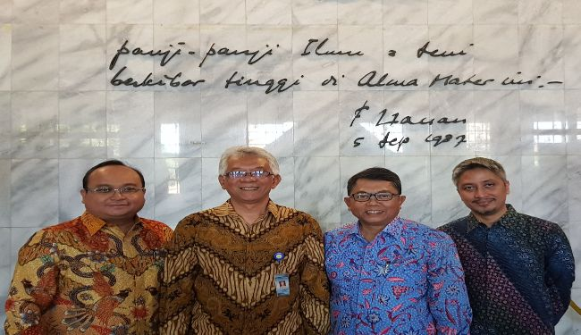 Prof Dr Dedi Priadi was appointed as Vice Rector 3