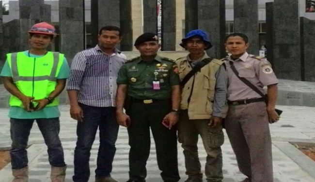 Senior Officers of Ministry of Defense Inspected Construction Projects in West Kalimantan 4