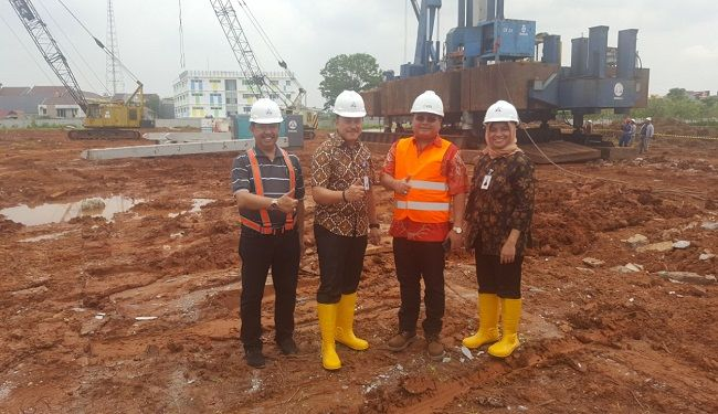 Groundbreaking of Foundation Work of Mandiri University at Wijayakusuma Jakarta 4