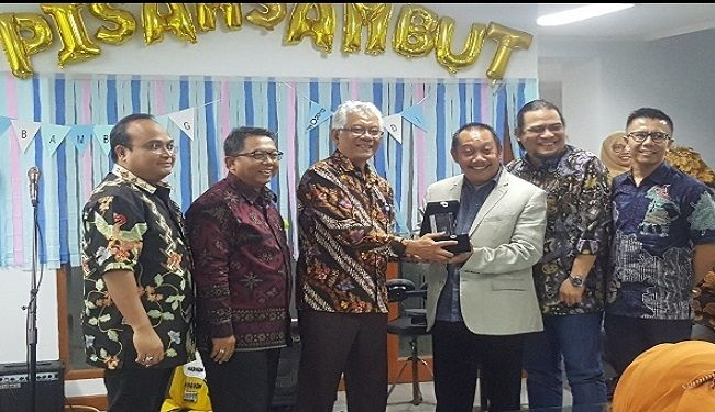 Farewell & Welcome Ceremony of The Director of Lemtek UI<br> 1
